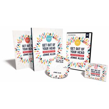 Get Out Of Your Head Curriculum Kit, by Jennie Allen, Kit