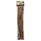 Tree House Studio, Chenille Stems, 12 x 1/4 Inches, Brown, 25 Count