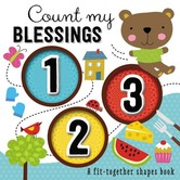 Thomas Nelson, Count My Blessings 1-2-3: A Fit-Together Shapes Board Book, Hardcover