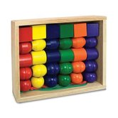 Melissa & Doug, Primary Lacing Wooden Beads, 3 to 5 Years Old, 32 Pieces