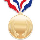 Gold Medals Cutouts