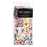 Brother Sister Design Studio, Wildflower Tissue Paper, 20 x 20 inches, 8 Sheets