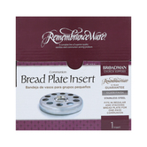 RemembranceWare, Communion Bread Plate Insert, Multiple Colors Available, 6 x 1 inches