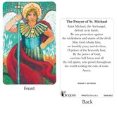 Dicksons, St. Michael the Archangel Pocket Card, 2 1/2 x 3 7/8 inches