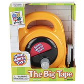 Small World Toys, The Big Tape Measure Playset, Yellow, 5 1/2 x 6 inches