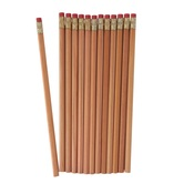 Farmhouse Lane Collection, Natural Wood Pencil with Eraser, 7.38 Inches, 1 Each