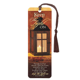 Dicksons, Keep The Light On Tassel Bookmark, 2 x 6 inches