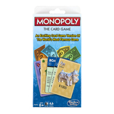 Winning Moves Games, Monopoly Card Game, 60 Cards, Ages 8 & Older, 2-4 Players
