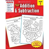 Scholastic, Success With Addition and Subtraction Activity Book, 48-Pages, Paperback, Grade 1