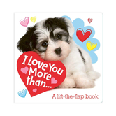 I Love You More Than: A Lift the Flap Book, by Little Genius Books, Board Book