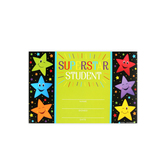 Renewing Minds, Superstar Student Certificates, 8.5 x 6.5 inches, 30 Count