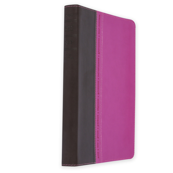 NLT Holy Bible, Personal Size, Large Print, Duo-Tone, Multiple Colors Available