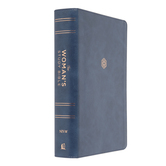 NIV The Womans Study Bible, Imitation Leather, Blue