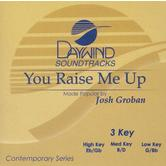 You Raise Me Up, Accompaniment Track, As Made Popular by Josh Groban, CD