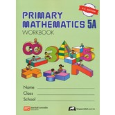 Singapore Math, Primary Math Workbook 5A, U.S. Edition, Paperback, 104 Pages, Grades 5-6