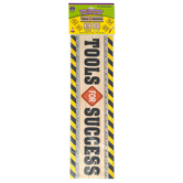 Teacher Created Resources, Under Construction Tools for Success Mini Bulletin Board Set, 30 Pieces