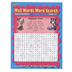 Bryan House Publishers, Wall Words Word Search Workbook, Reproducible Paperback, 64 Pages, Grades 1-2