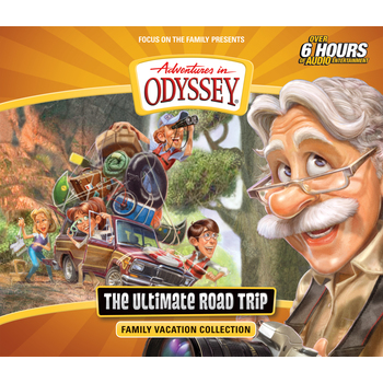Adventures in Odyssey, The Ultimate Road Trip, by Focus on the Family, 6 CD Set
