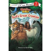 Adventure Bible: God's Great Creation, Level 2 Reader, by David Miles, Paperback