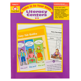 Evan-Moor, Take It To Your Seat Literacy Centers Teacher Resource, Paperback, 192 Pages, Grades 2-3