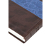 ESV Thinline Bible, Imitation Leather, Chocolate and Blue Paisley