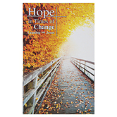 CTA, Inc., Hope In Times of Change Leaning On Jesus Book, 7 x 4 Inches, 64 Pages