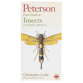 Peterson First Guide to Insects of North America, Paperback, Grades 3-12 and adults