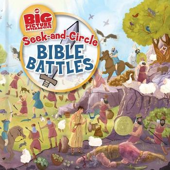 Seek-and-Circle Bible Battles, One Big Story, by B&H Kids, Board Book