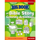 Big Book of Bible Story Coloring Activities for Elementary Kids by David C Cook, Paperback, 248 Pages, Grades K-6