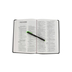 NIV Value Thinline Bible, Large Print, Imitation Leather, Black and Gray