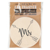 Carson Home Accents, Mr Arrows Coaster, Absorbent Stoneware, 2 3/4 inches