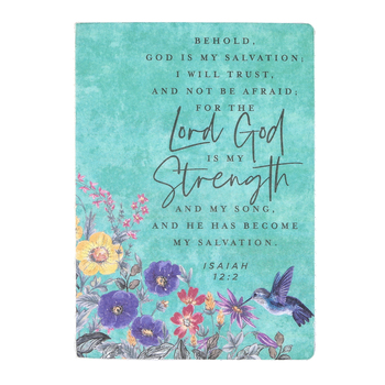 SoulScripts, Isaiah 12:2 Behold God Is My Salvation, Hardcover Journal, 5 1/2 x 7 inches, 96 Pages