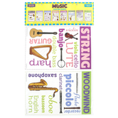 McDonald Publishing, Music Chatter Charts, 11 x 17 Inches, Pack of 8, Grades 4-12