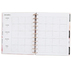 MAMBI The Happy Planner Inspire Dreams, 12-Month Dated, Customizable, Leopard Rose Gold, 8.5 x 11 Inch