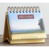 DaySpring, Billy Graham Hope For Each Day Perpetual Calendar, Paper, 5-1/2 x 5-1/4 x 1-1/4 inches