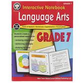 Carson-Dellosa, Interactive Notebook: Language Arts Resource Book, Paperback, 64 Pages, Grade 7