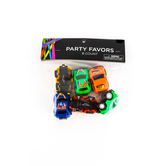 Brother Sister Design Studio, Party Favor Pull Back Cars, Assorted, Pack of 6