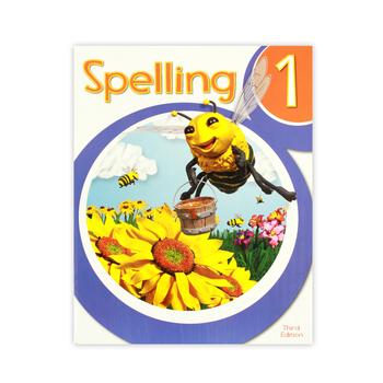 BJU Press, Spelling 1 Student Worktext, 3rd Edition, Grade 1