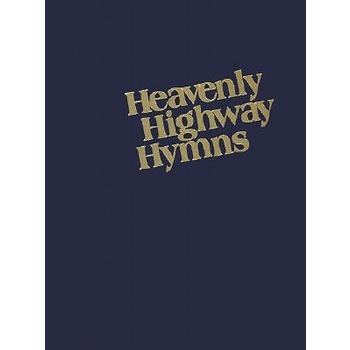 Heavenly Highway Hymnal, Large Print, by Brentwood Music, Blue Hardcover