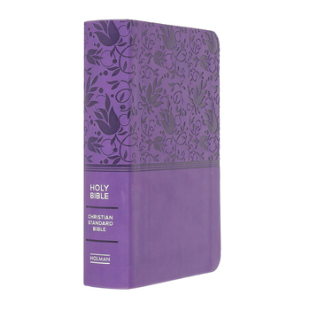CSB Compact Reference Bible, Large Print, Imitation Leather, Multiple Colors Available