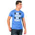 NOTW, Know Jesus Know Peace, Men's T-Shirt, Royal Blue