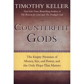 Counterfeit Gods, by Timothy Keller, Paperback