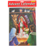 Vermont Christmas Co., Nativity Advent Calendar, 8 1/4 x 11 3/4 inches