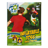 Toysmith, Get Outside Go Sport, Inflatable Toss Game, 44 inches