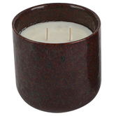 Clementine & Mango Ceramic Jar Candle, Brown, 16 ounces