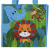 Stephen Joseph, Party Animal Zoo Animal Recycled Gift Bag, 9 x 5 1/2 x 9 1/2 inches