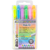 G.T. Luscombe, Accu-Gel Bible Highlighters Study Kit, Hi-Glider, Multi-Colored, Set of 6