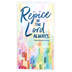 Renewing Faith, Philippians 4:4 Rejoice In The Lord Always 28-Month Pocket Planner, 3 1/2 x 6 1/2 inches