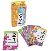 Subtraction/Sustracción English/Spanish Pocket Flash Cards, Grades 1-3