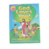 Focus On The Family, God Loves You: A Read-Aloud Coloring Book, Paper, 16 Pages, Ages 4-7